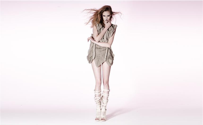 Motohiro Tanji couture knitwear - Shortrounds Knitwear