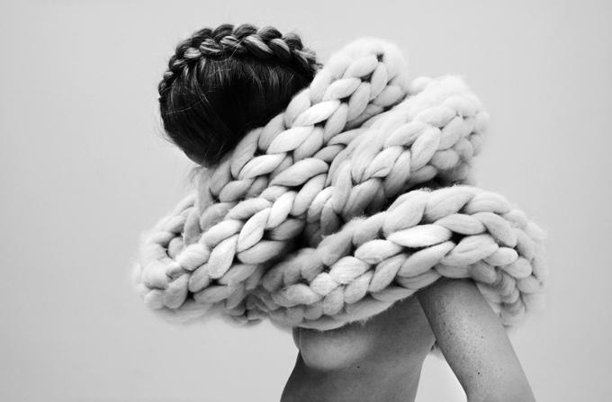 Nanna van Blaaderen's 'Dense' collection - Shortrounds Knitwear