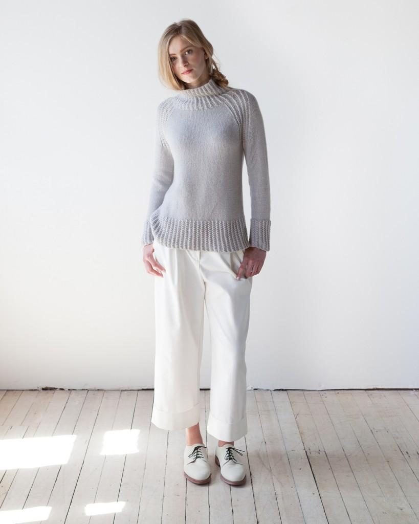 Woolfolk Flet knitting pattern - Shortrounds Knitwear