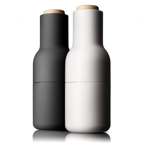Salt and pepper grinders by Menu at Oates & Co. - Shortrounds Knitwear