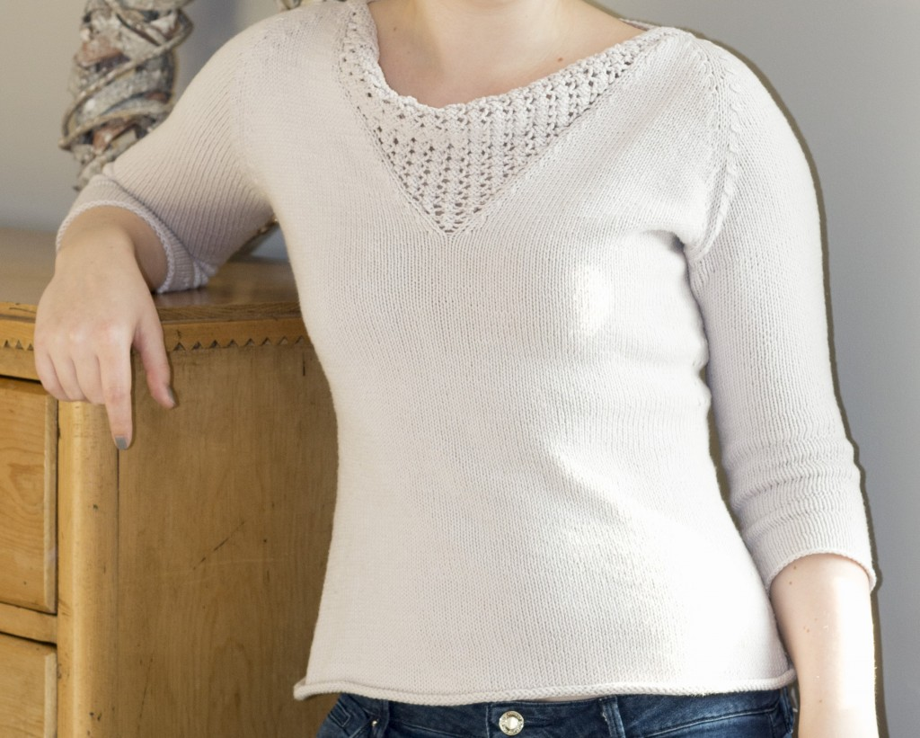 Brooklyn Tweed Anais jumper sweater - Shortrounds Knitwear
