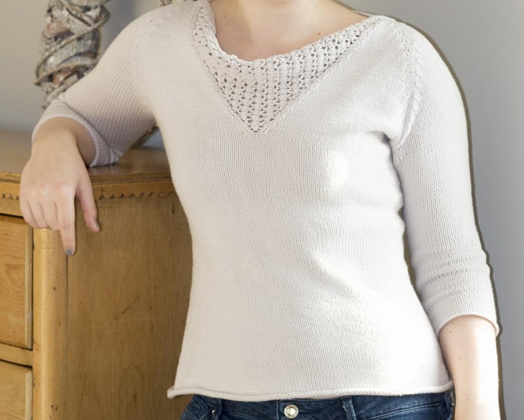 Brooklyn Tweed Anais jumper sweater - Shortrounds Knitwear