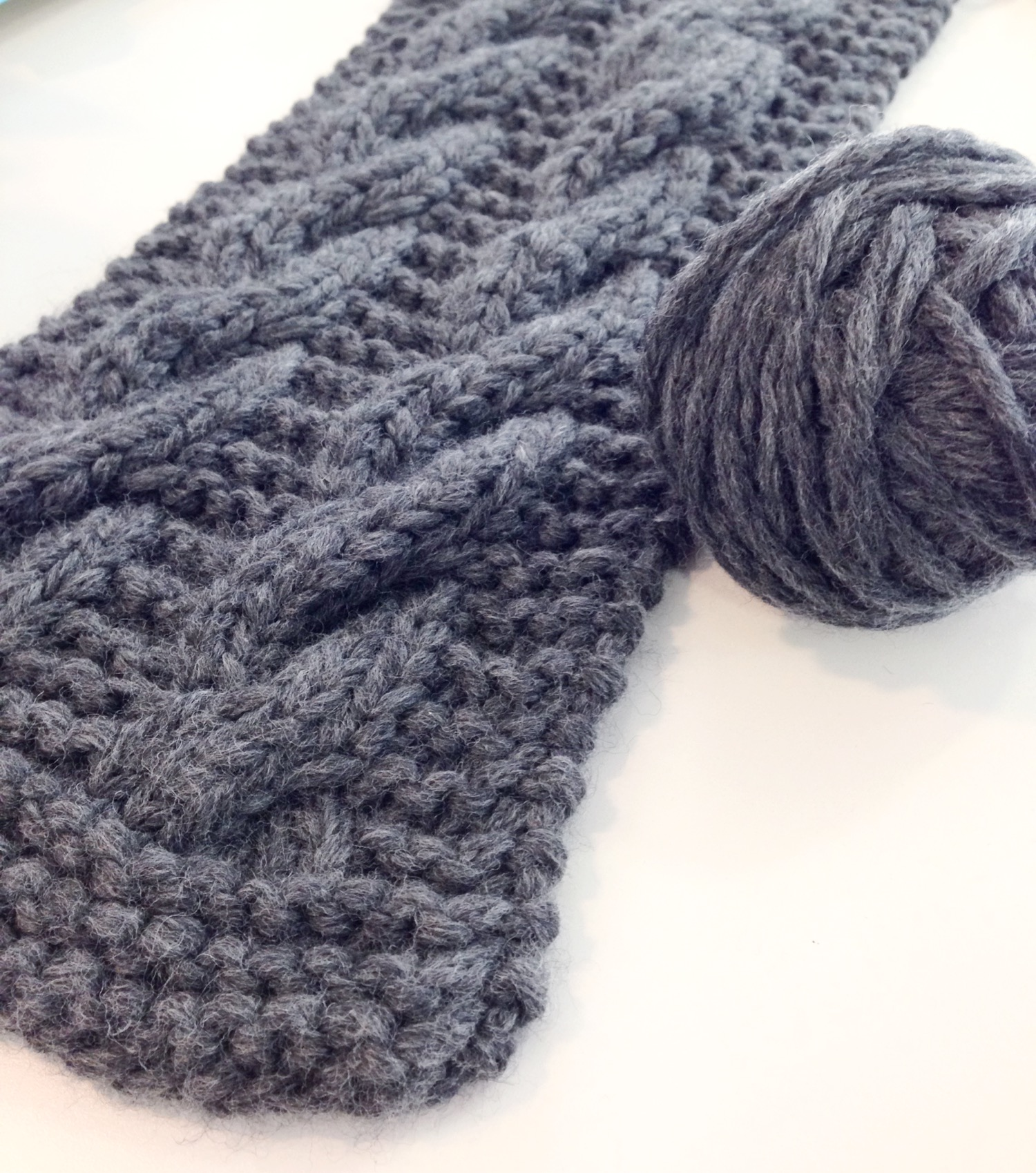 Kate's Cable Winter Kit - free knitting pattern - Shortrounds