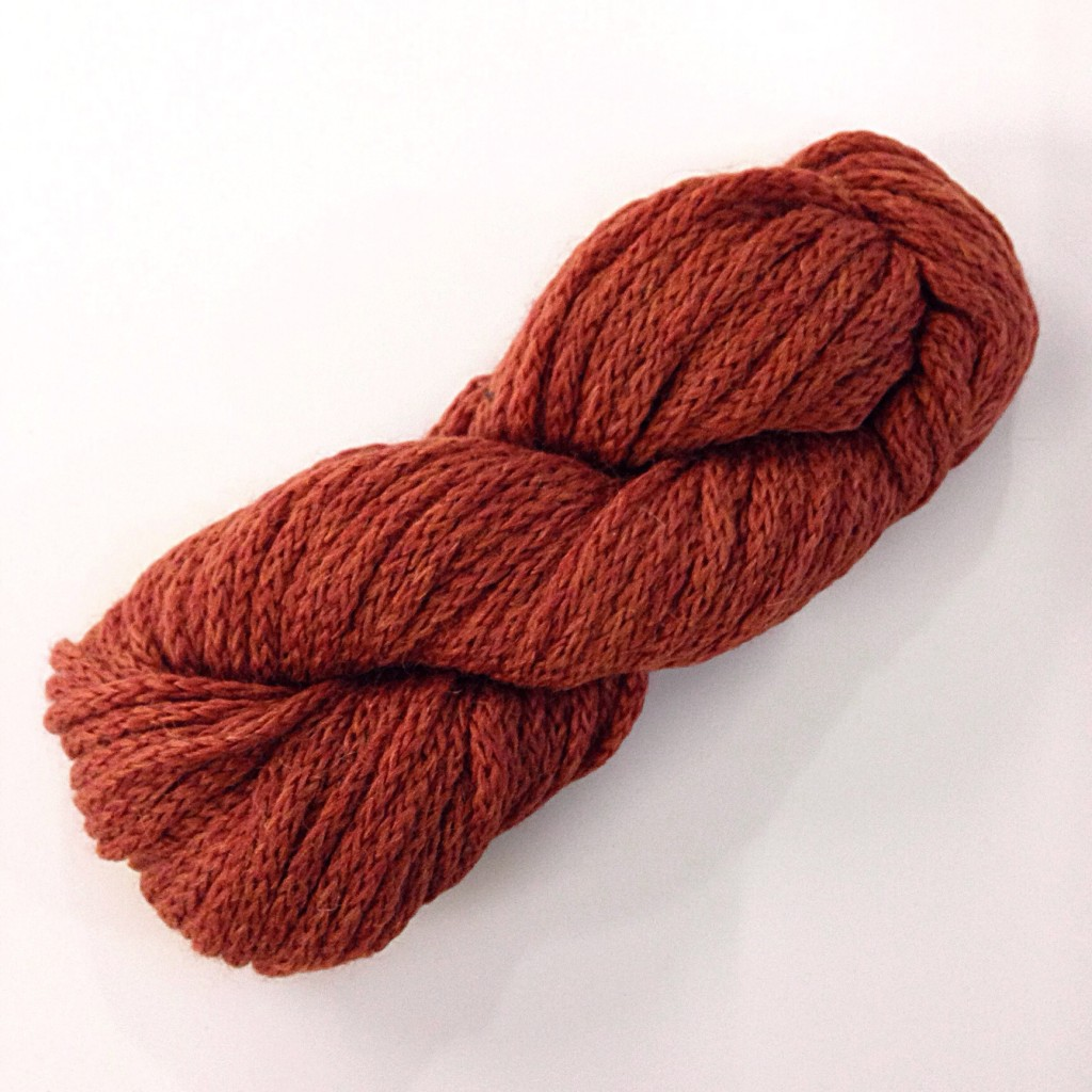 Debbie Bliss paloma yarn in rust 007, knitting blog uk, free knitting pattern