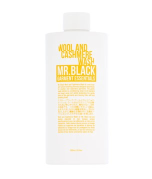 Wool and cashmere wash Mr Black Garment Essentials - Shortrounds Knitwear