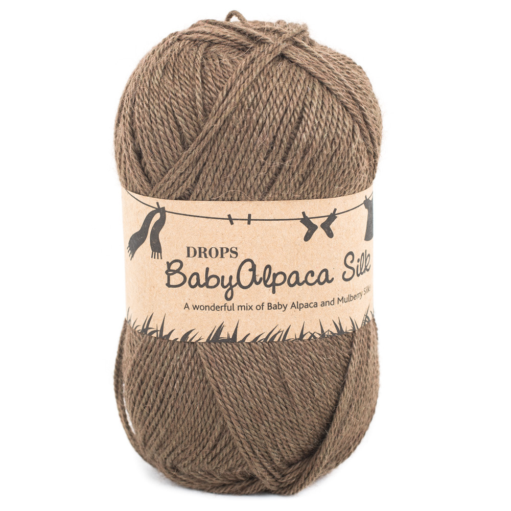 Drops Baby Alpaca Silk budget yarns - Shortrounds Knitwear
