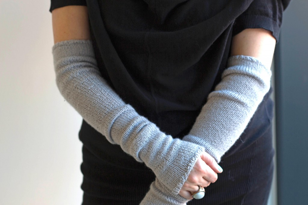 Bria Armwarmers Free Knitting Pattern Shortrounds
