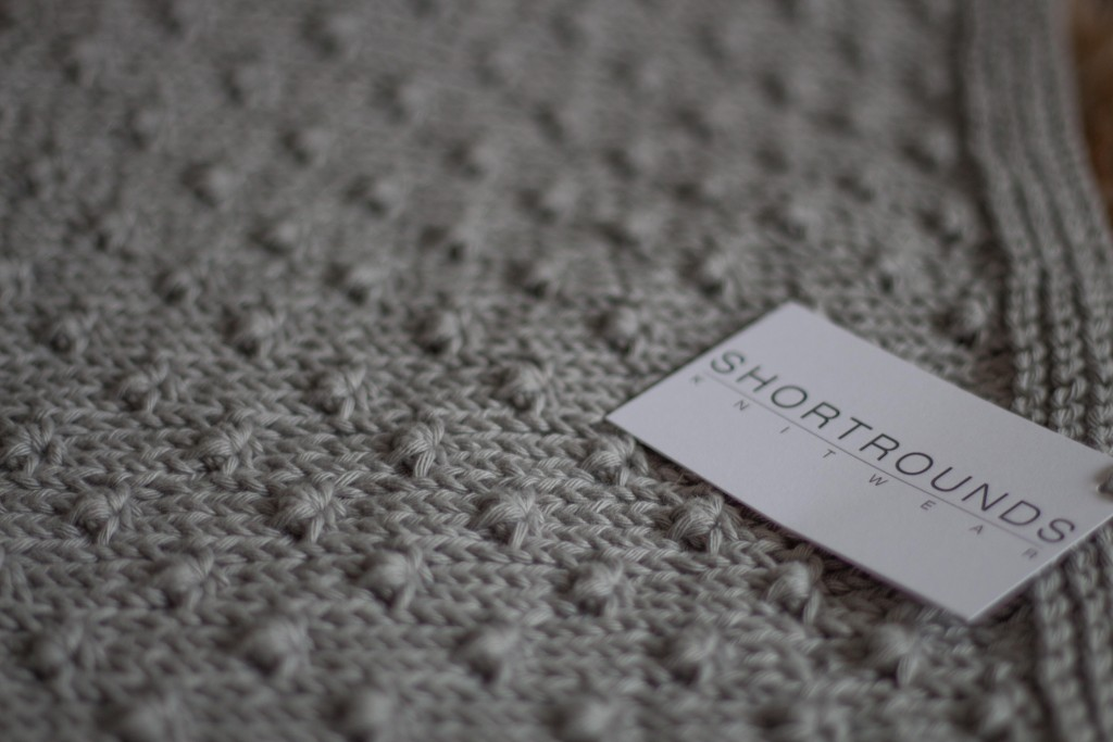 Knot Stitch Blanket - Shortrounds Knitwear
