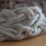 A very braidy cowl by Maryse Roudier | Shortrounds Knitwear