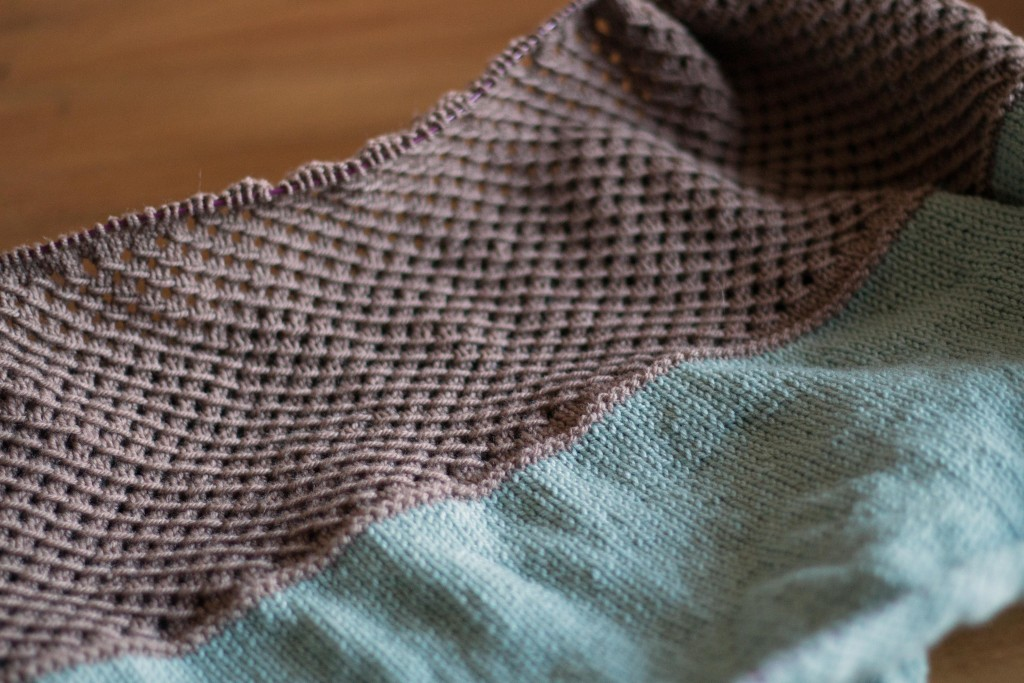 Quince & Co. Scarves 4 collection knitalong - Shortrounds