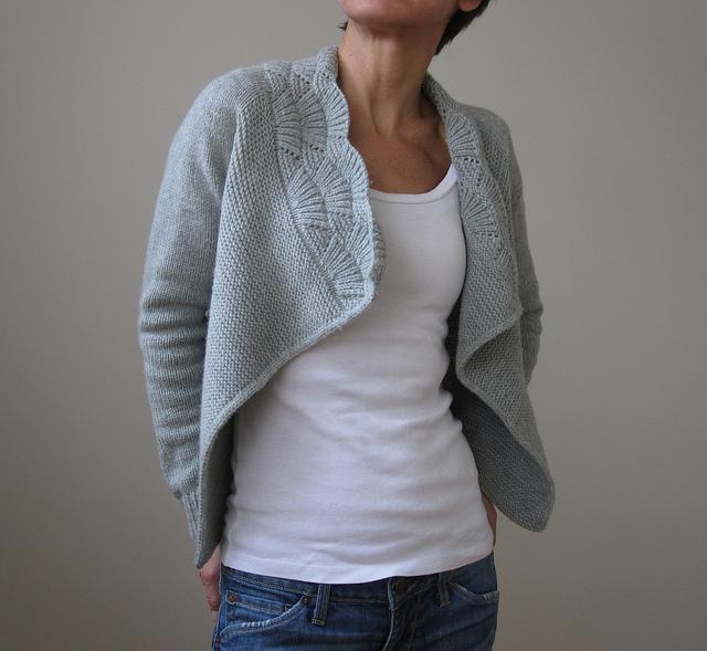 Nanook cardigan by Heidi Kirrmaier - Shortrounds Knitwear