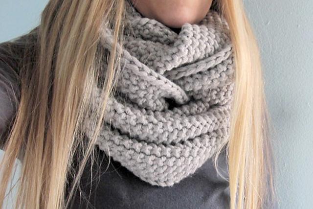 GAP-tastic cowl Jen Geigley - Shortrounds Knitwear