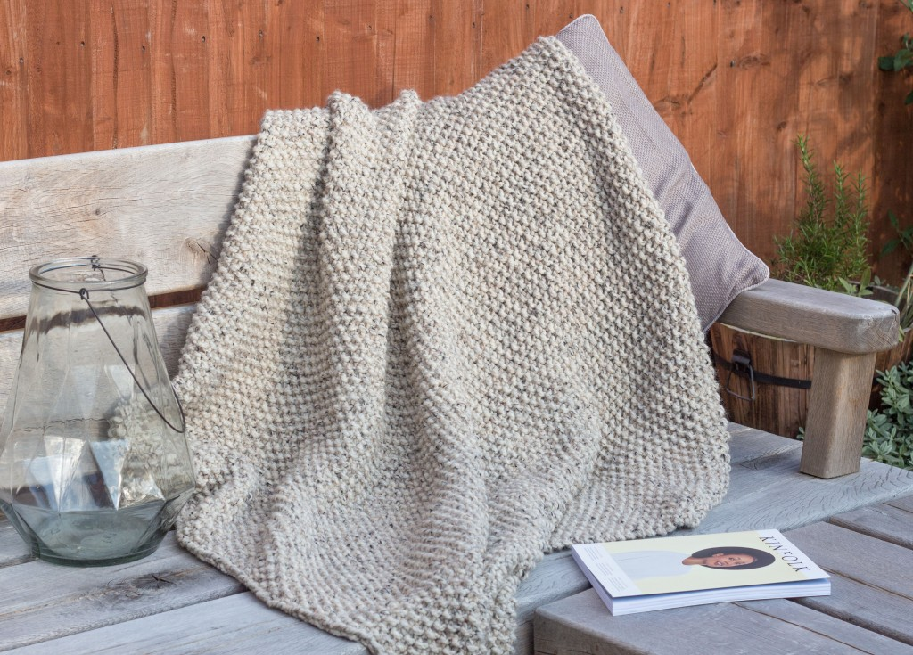Knitting Lifeline After The Fact : Snug a seed stitch blanket knitting pattern shortrounds