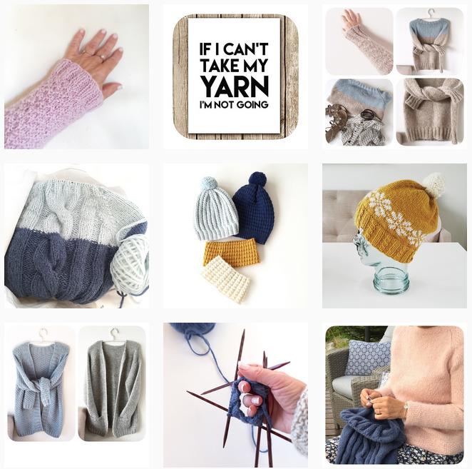 Knitting Inna - Shortrounds