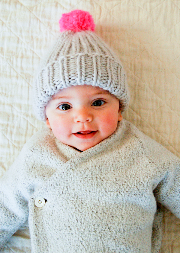 Purl Bee baby hat - Shortrounds