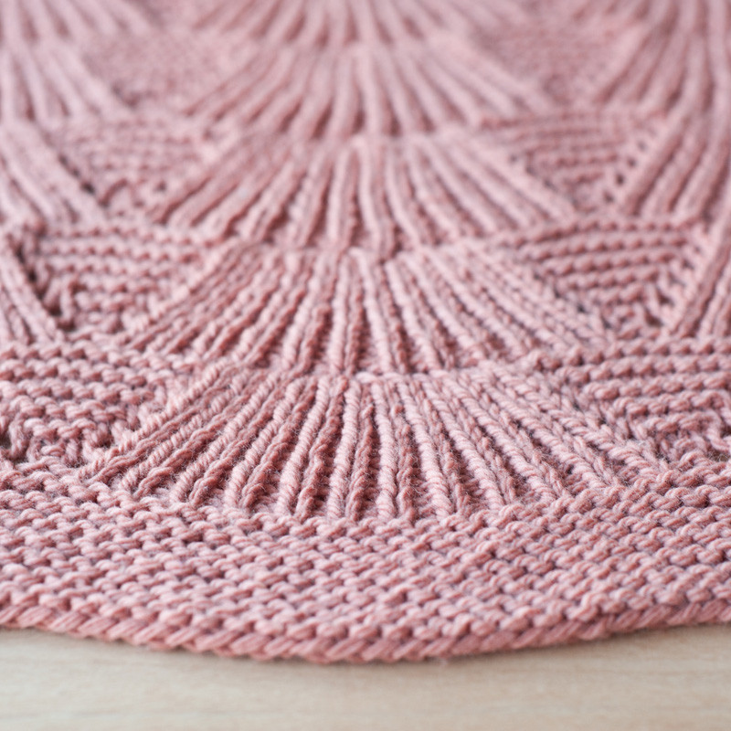 Quince & Co. Camilla Blanket - Shortrounds Knitwear