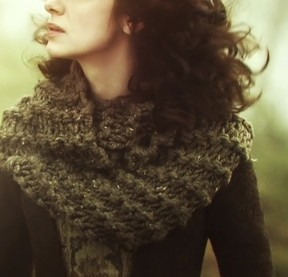 Outlander cowl scarf - Shortrounds Knitwear