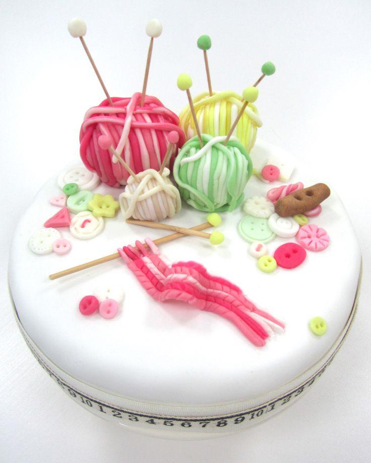 Frances Quinn knitting cake - Shortrounds Knitwear