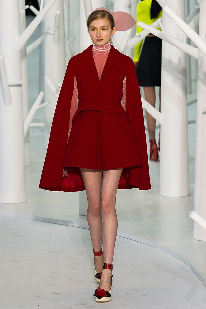 Cape coat - AW15 trends - Shortrounds Knitwear