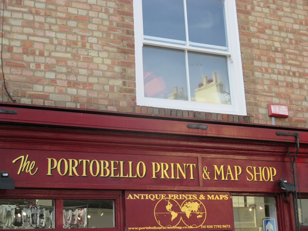 Portobello print and map shop - Shortrounds Knitwear
