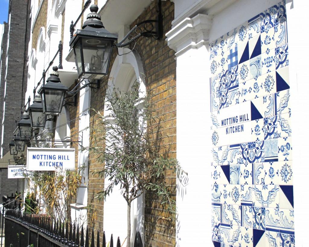 Notting Hill Kitchen tile love - Shortrounds Knitwear