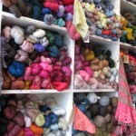 Hundreds of skeins @ Loop | Shortrounds Knitwear