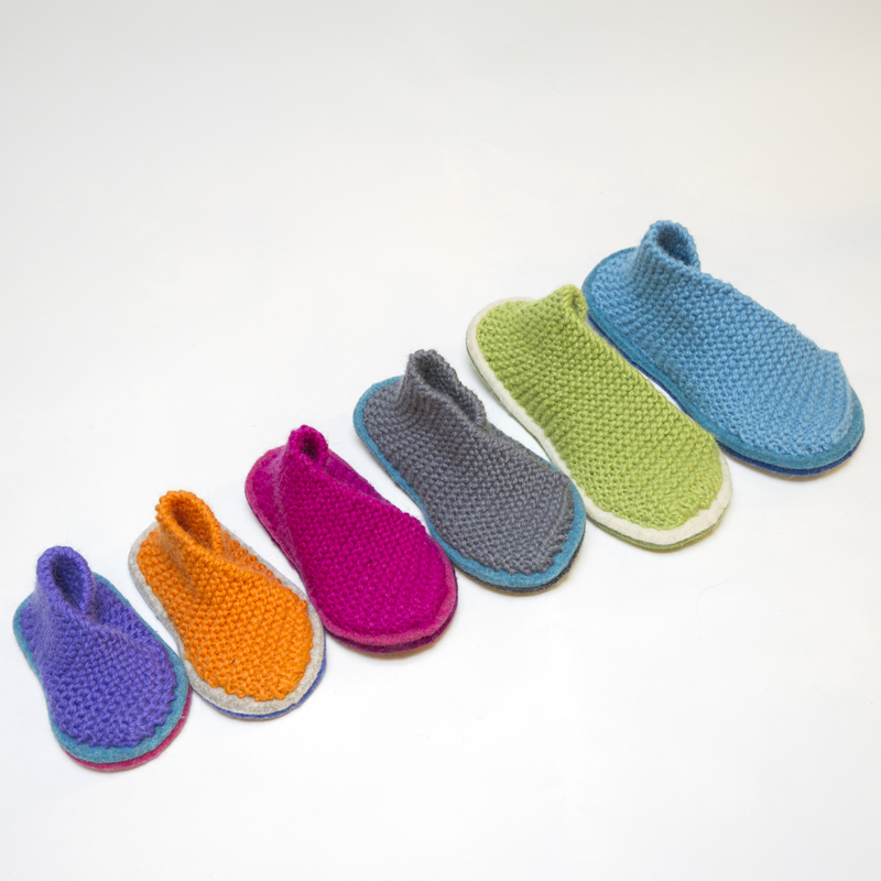 A Q&A with Baa Baa Brighouse Herdy Children's Slipper knit kit - Shortrounds Knitwear