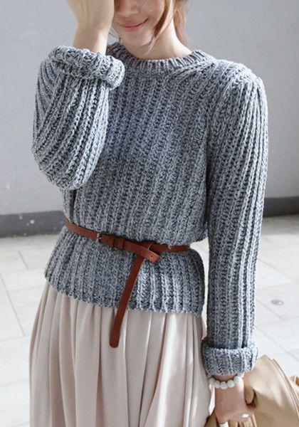 Maxi Skirt jumper - AW15 trends - Shortrounds Knitwear