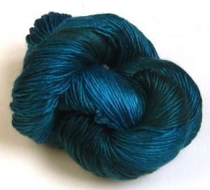 Alchemy silk purse in Mediterranean - Shortrounds Knitwear