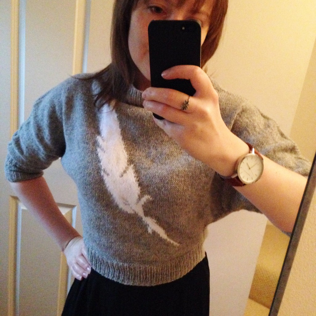 Feather Sweater by Pickles - Shortrounds Knitwear