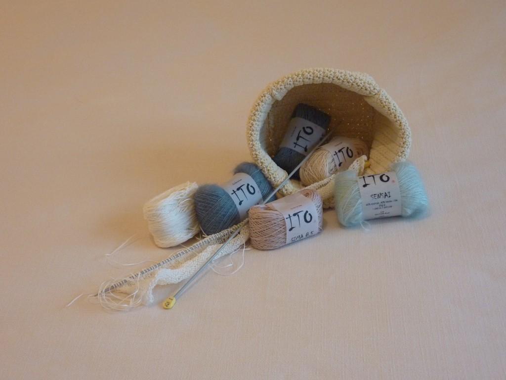 Ito yarns for holiday design/knitting c/o Fishtail | Shortrounds Knitwear