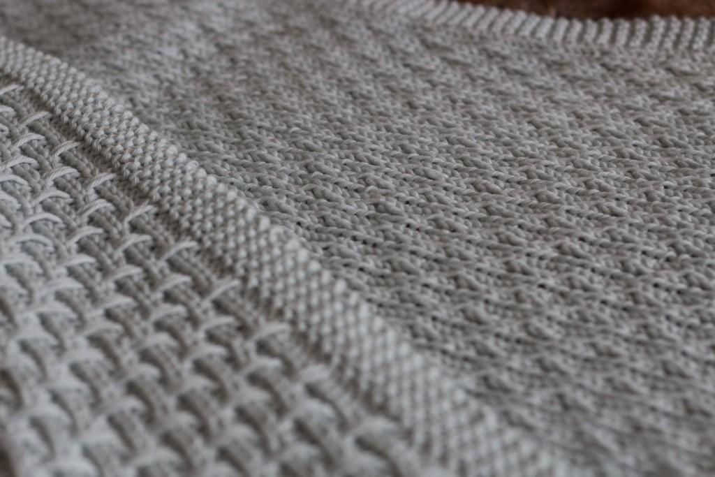 Hessian Baby Blanket | Shortrounds Knitwear