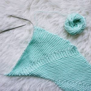 Fly Forward Shawl | Shortrounds Knitwear