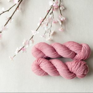 Quince & Co Chickadee Carnation | Shortrounds Knitwear