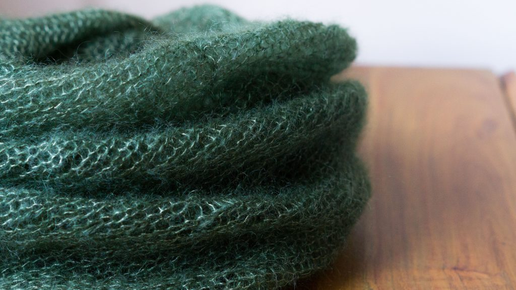 Mohair Bias Loop In Drops Kid Silk | Shortrounds Knitwear