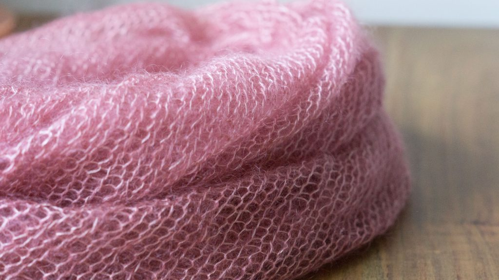 Mohair Bias Loop in Ito Sensai 'Cherryblossom' | Shortrounds Knitwear