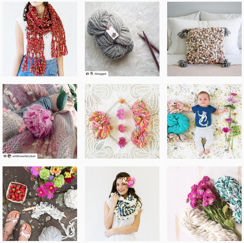 Knit Collage Instagram   Shortrounds Knitwear