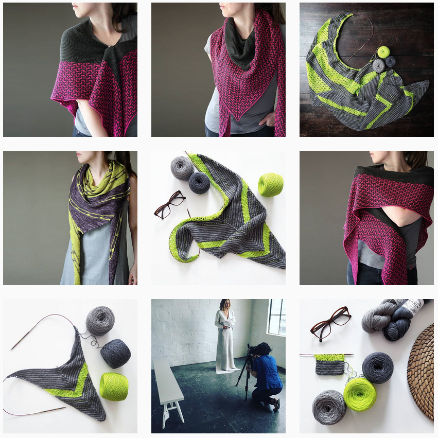 Melanie Berg Instagram   Shortrounds Knitwear