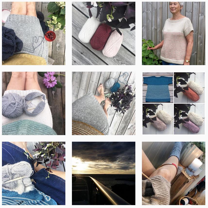 Mindesignstrikk Instagram | Shortrounds Knitwear