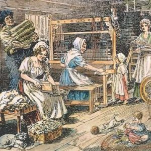 The history of knitting in America | Shortrounds Knitwear