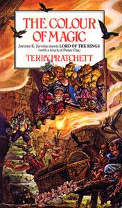 The Colour of Magic Terry Prachett   Shortrounds Knitwear
