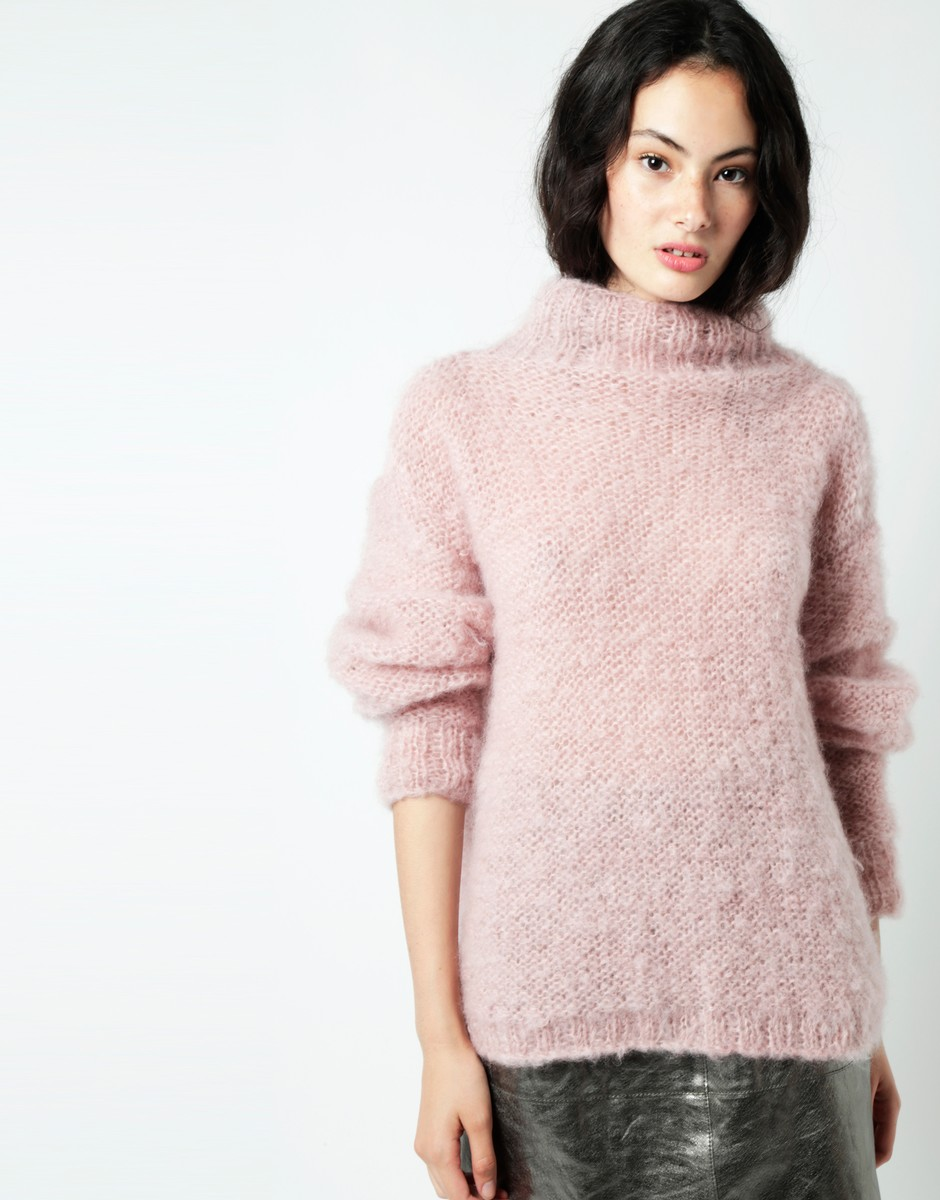 Hotline Sweater - Wool And The Gang Take Care Mohair Collection | Shortrounds Knitwear