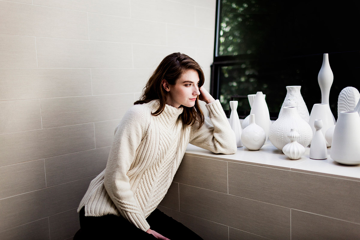 Gevir Pullover - Woolfolk TOV Collection | Shortrounds Knitwear