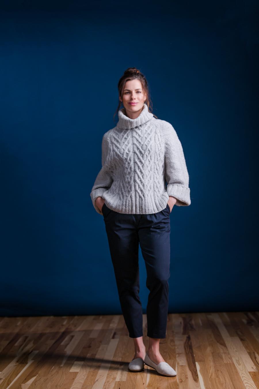 Auster - Brooklyn Tweed Fall 2016 | Shortrounds Knitwear