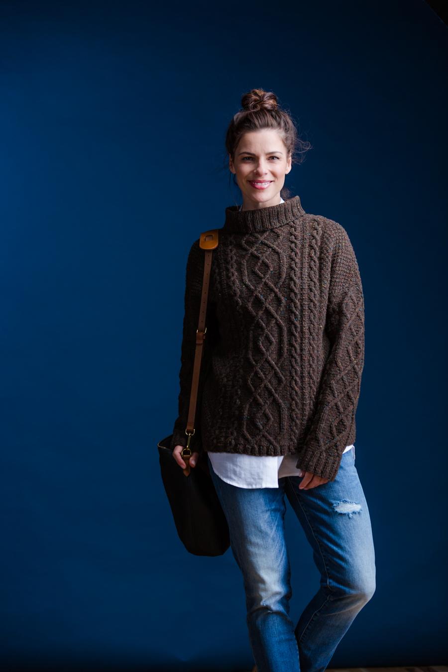 Vika - Brooklyn Tweed Fall 2016 | Shortrounds Knitwear