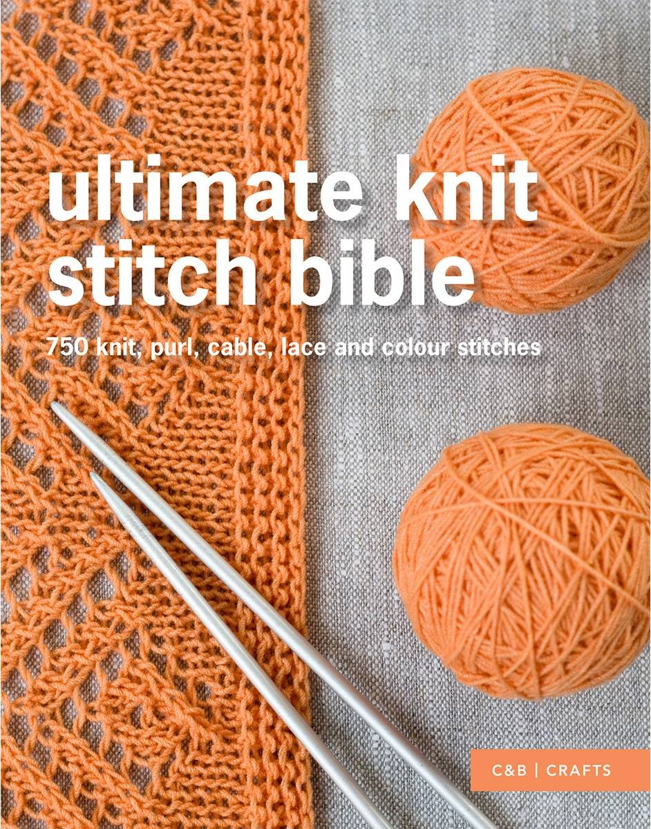 The Ultimate Knit Stitch Bible Erika Knight | Shortrounds Knitwear