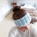 Chunky headband #wearyourknits | Shortrounds Knitwear