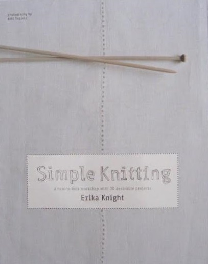 Simple Knitting by Erika Knight | Shortrounds Knitwear