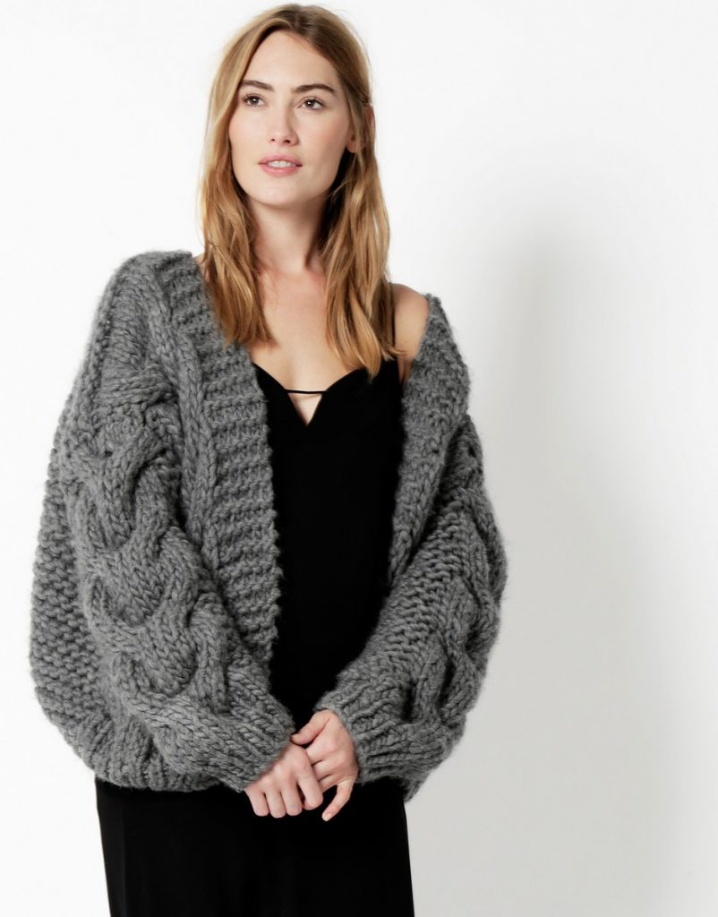 Cable Bomber WATG x I Love Mr Mittens | Shortrounds Knitwear