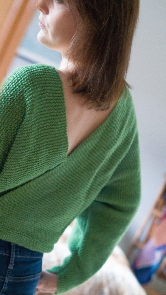 Pickles Slitted Sweater | Shortrounds Knitwear